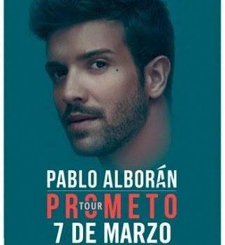 PABLO ALBORÀN LLEGA CON PROMETEO TOUR