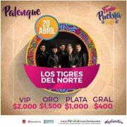 Feria de Puebla rugirá con Los Tigres del Norte