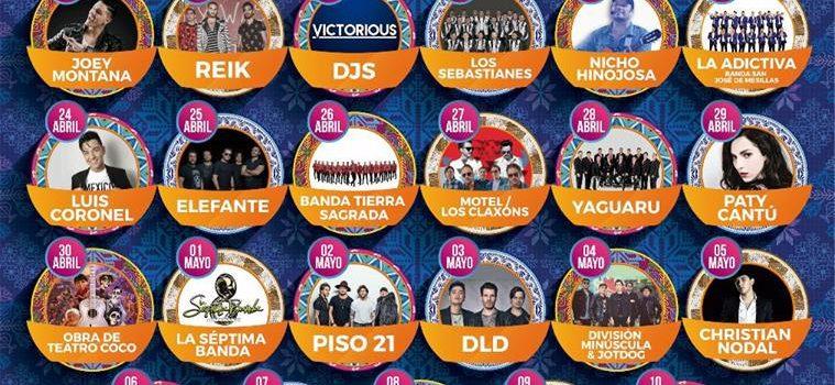 Del jueves 12 de abril al domingo 13 de mayo se realizará la Feria de Puebla 2018.
