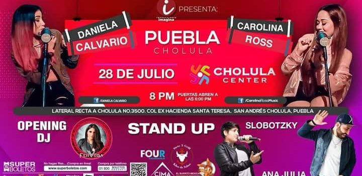 Dos voces: Daniela Calvario y Carolina Ross, música y stand up