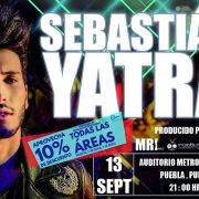 Sebastian Yatra Llega a Puebla