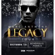 A ritmo de salsa Acropolis Puebla recibirá a Marc Antony