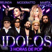 """Gran concierto """"Ídolos"""" en Puebla con 3 horas del mejor Pop."""