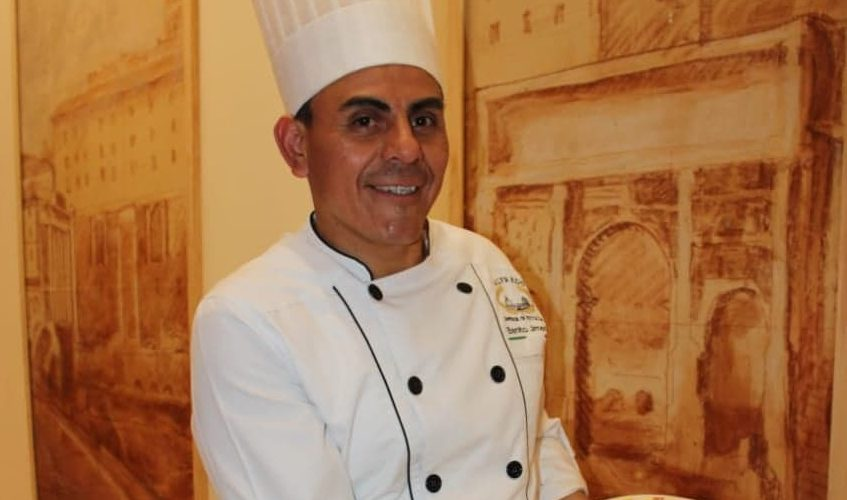ALFREDO DI ROMA , LLEGA A LA COCINA DEL HOTEL PRESIDENTE INTERCONTINENTAL PUEBLA