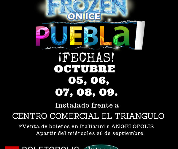 POR PRIMERA VEZ EN PUEBLA: FROZEN ON ICE