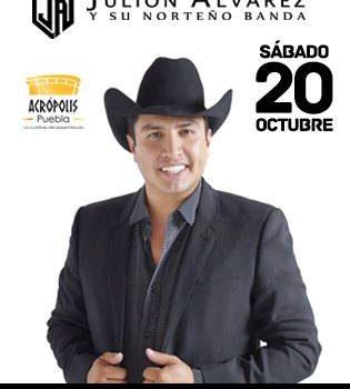Julión álvarez Y Su Norteño Banda Se Presentarán Con Todos Sus