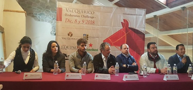 Anuncian en rueda de prensa: Val'Quirico Endurance Challenge