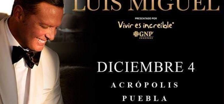 Hoy se prenta Luis Miguel en Acropolis