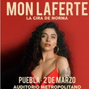 Mon Laferte: Una de las cantantes mas influyentes llega a Puebla
