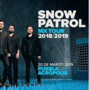 SNOW PATROL ANUNCIA CONCIERTO EN PUEBLA 20 DE MARZO – ACRÓPOLIS