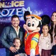 MAGIA, ALEGRÍA Y DIVERSIÓN SE VIVIÓ EN LA ALFOMBRA ROJA Y EL DEBUT DE FROZEN ON ICE