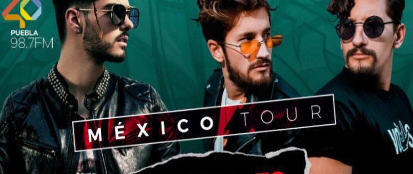"-Abraham Mateo + Mau & Ricky presentarán en Puebla su ""México Tour"""