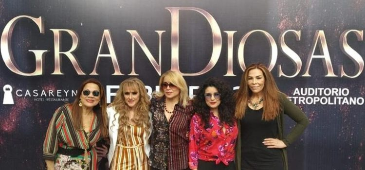 """GranDiosas"": sábado 23 de febrero, Auditorio Metropolitano, 21:00 horas."