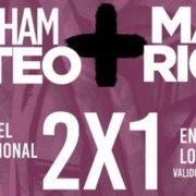 Abraham Mateo, Mau y Ricky , ofrecen promocion por el dia de la mujer