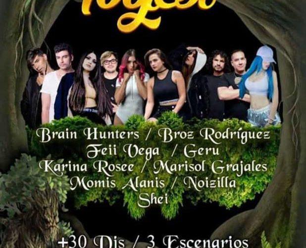 """""""Fogest Festival 2019"""": lo mejor de la Música Electrónica a nivel nacional, en un solo evento.  -Viernes 29 de marzo, de 16:00 a 2:00 horas, Parque Metropolitano."""