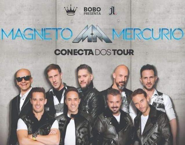 Magneto y Mercurio Conecta 2 Tour
