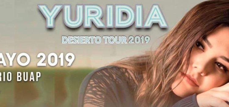 Yuridia nuevamente en Puebla