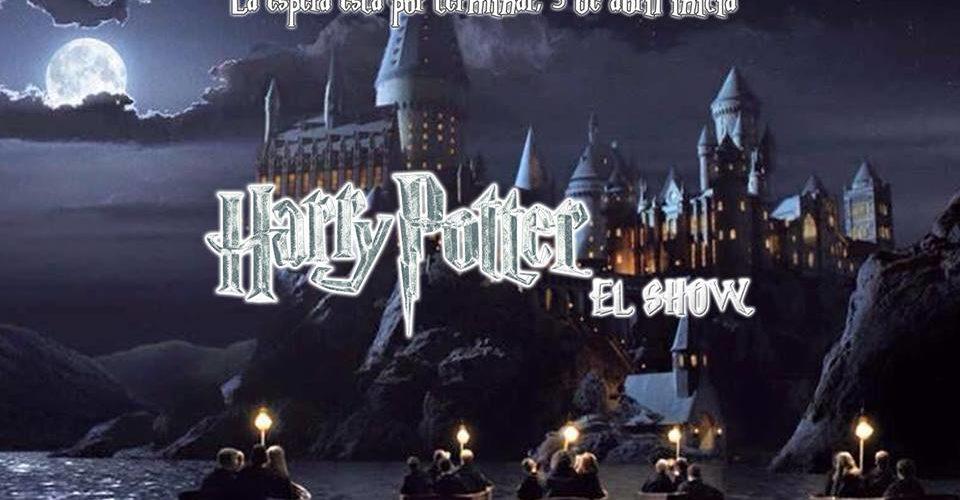 """""""Harry Potter El Show"""" a partir del viernes 5 de abril en la Carpa Mágica Howgarts, instalada en Angelópolis."""