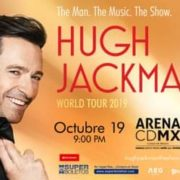 Hugh Jackman se presentará en la Arena CDMX.