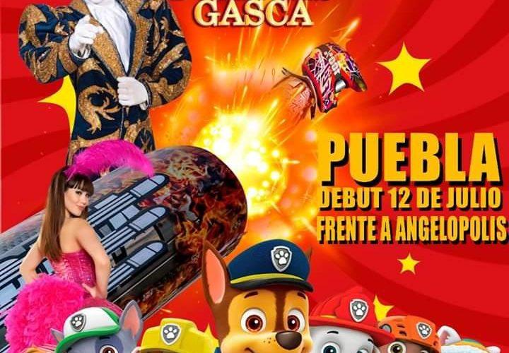 """-El """"Circo Espectaculares Hermanos Fuentes Gasca"""" regresa a Puebla, después de 10 años"""