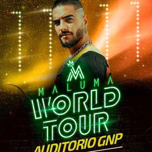"""-Maluma regresa a Puebla el jueves 12 de diciembre con su """"World Tour."""