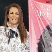Edith Márquez consiente a su público con una firma de autógrafos