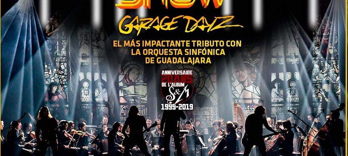 El espectáculo sinfónico llega a Auditorio Explanada!! Metálica show Garage Dayz