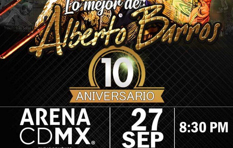 Alberto Barros llegará a la Ciudad de México, con nueva producción
