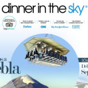 DINNER IN THE SKY LLEGA AL HOTEL PRESIDENTE INTERCONTINENTAL PUEBLA