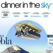 DINNER IN THE SKY LLEGA AL HOTEL PRESIDENTE INTERCONTINENTAL PUEBLA