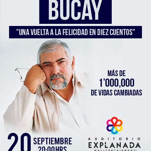 Inicia la cuenta regresiva para que Jorge Bucay llegue a Auditorio Explanada