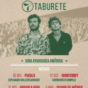 TABURETE  CELEBRA NOMINACIÓN A LOS LATIN GRAMMY AWARDS