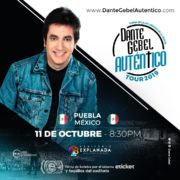 Dante Gebel llega a Auditorio Explanada con su tour AUTÉNTICO