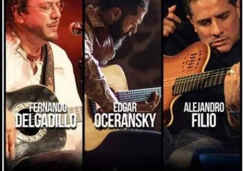 Tres grandes de la trova en Puebla: OCERANSKY, FILIO Y DELGADILLO