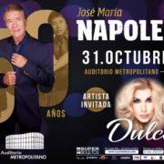 Celebrando 50 años Napoleón en concierto