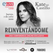 Conferencia virtual de Kate del Castillo.