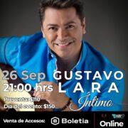 """GUSTAVO LARA PRESENTARÁ SU SENCILLO """"PORQUE TU"""" EN STREAMING"""