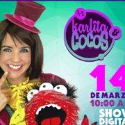 Karlita & Cocos show digital interactivo  14 de marzo