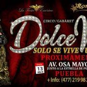 """""""Dolce Vita"""": un espectáculo cien por ciento europeo en el que se fusionan las artes circenses con el Cabaret."""
