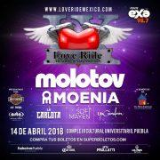 Love Ride México & Latinoamérica se realizará el próximo 14 de abril en la Explanada del Complejo Cultural Universitario de la BUAP.