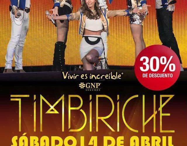 """Timbiriche regresa a Puebla con su """"Tour Juntos"""" por segunda vez."""