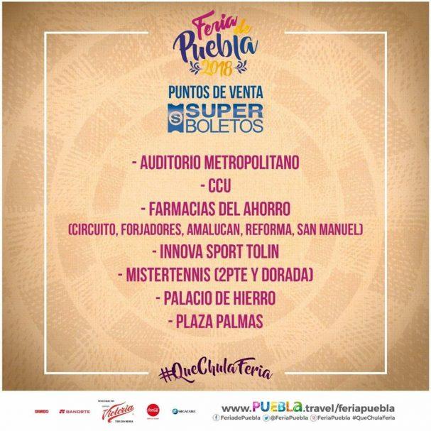 Feria de Puebla 2018