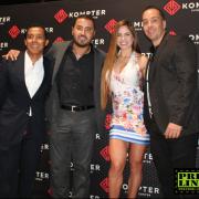 Kompter Mirador,inaugura con gran éxito con la presencia de Michelle Lewin