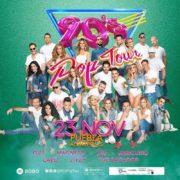 """Con una alineación completamente renovada, regresa a Puebla """"90's Pop Tour""""."""