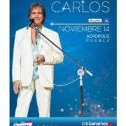 Roberto Carlos regresa a Acropolis después de dos años