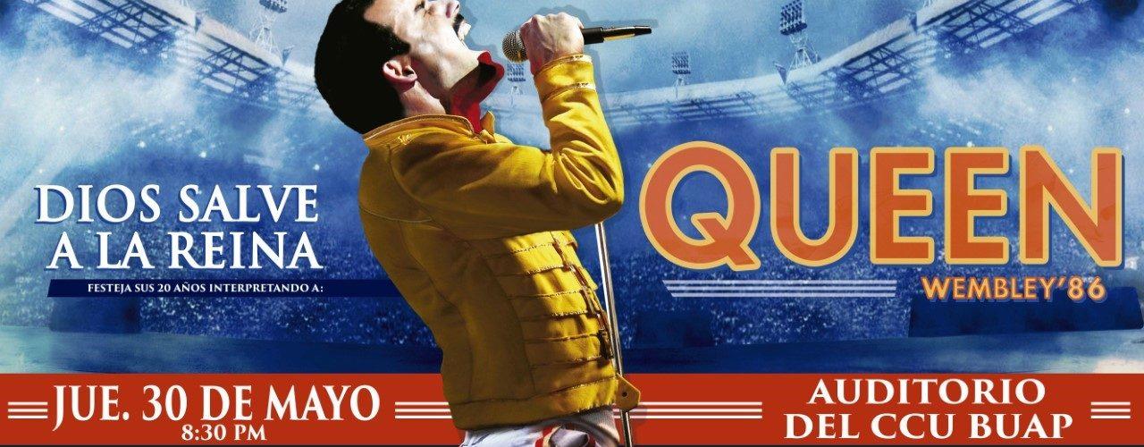 """DIOS SALVE A LA REINA , QUEEN – WEMBLEY 86"""""""