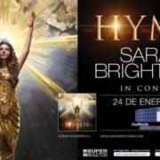 La voz angelical de Sarah Brightman se presenta en el Auditorio Metropolitano de Puebla.
