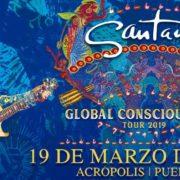 "Carlos Santana llega a Puebla con su ""Global Consciousness Tour""."