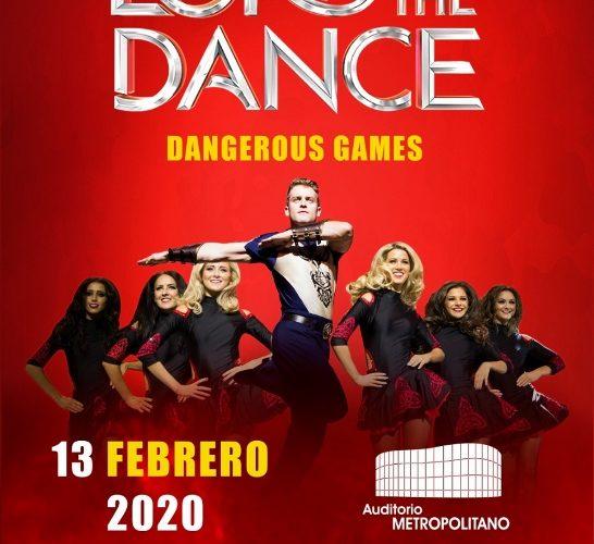 Este 13 de febrero llega el espectaculo internacional Lord of the Dance