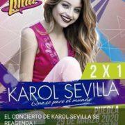 Karol Sevilla se reagenda para el 29 de marzo